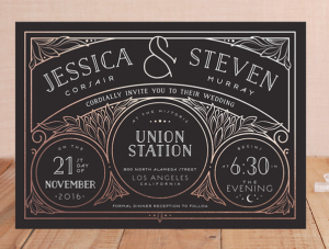 predesigned invitations