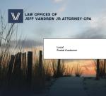 Jeff Vander, Esq. Mailer